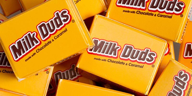 milk duds selling shops