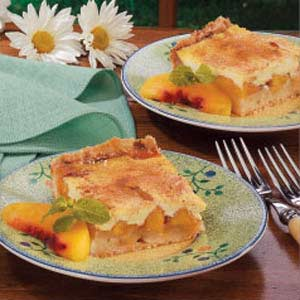 Sour Peach Hearts Kuchen